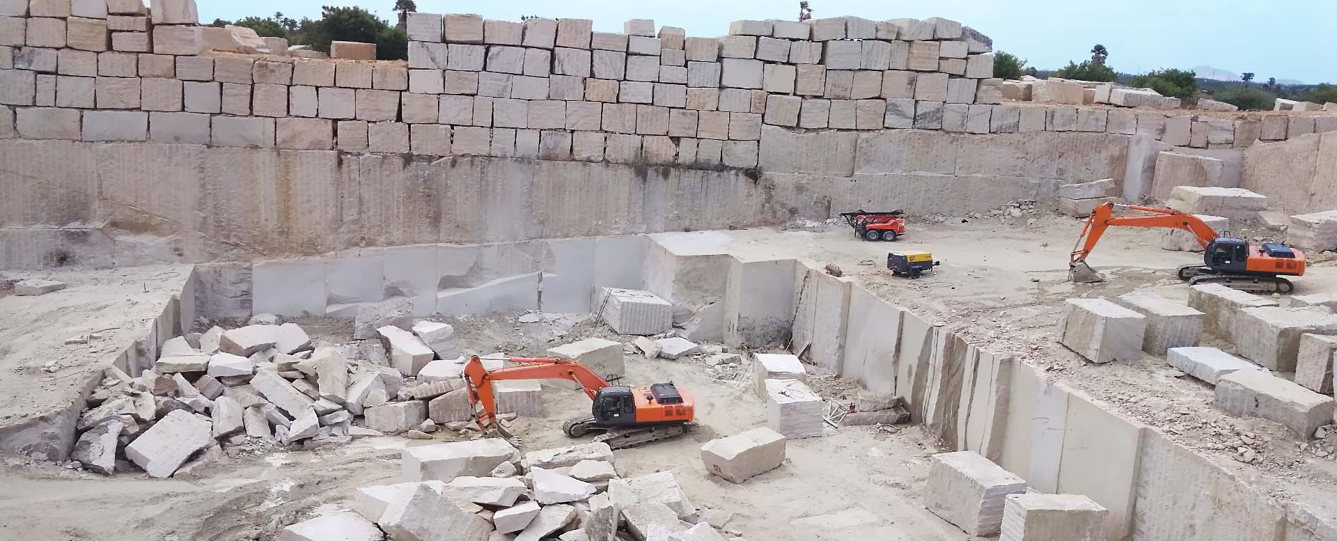 Granite quarry India