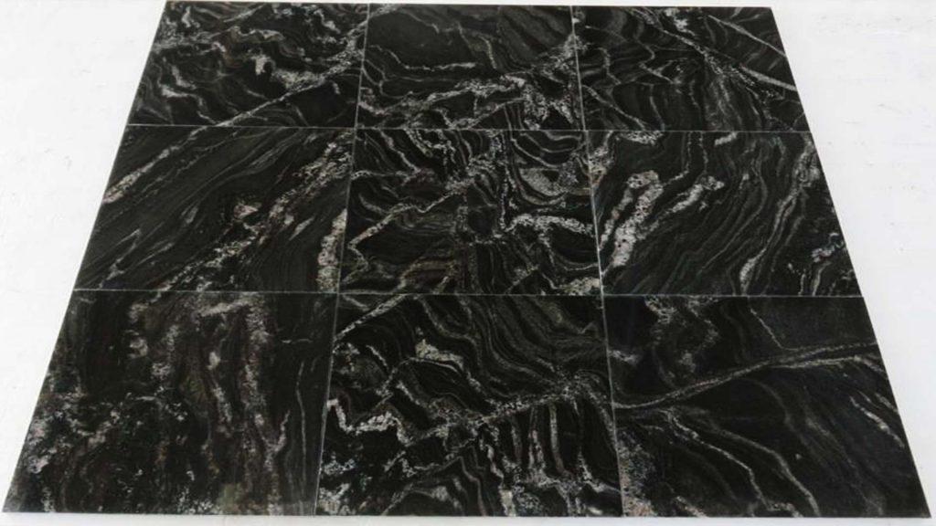 Black Forest granite tiles