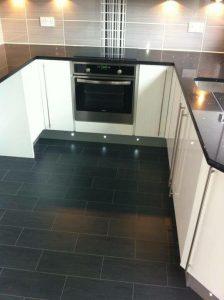 Granite kitchen floor
