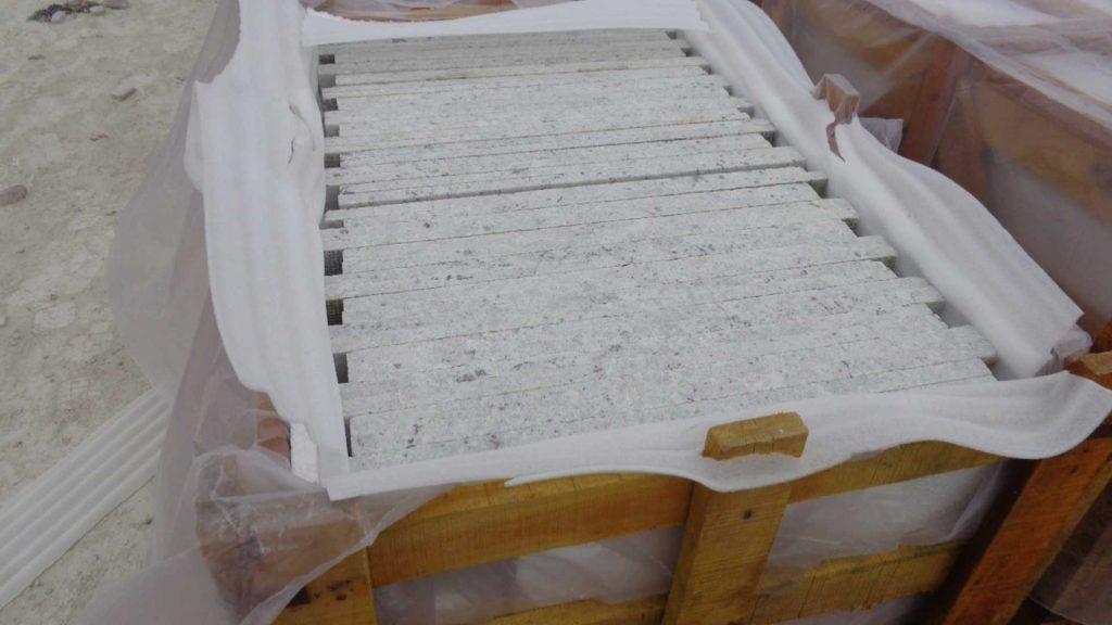 Granite tile packing