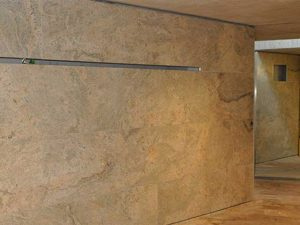 Ivory fantasy granite wall cladding project