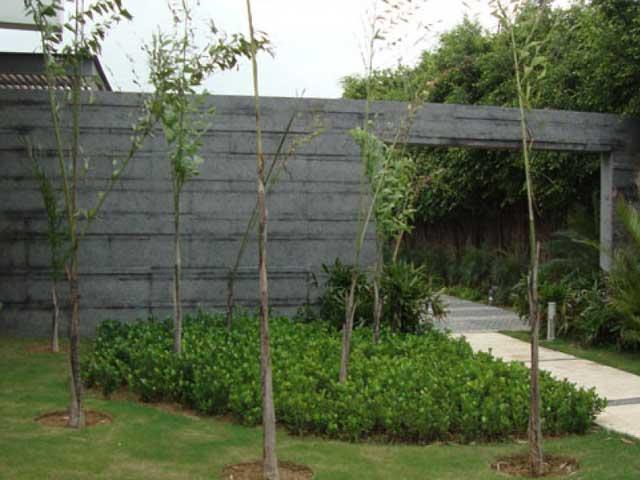 steel grey wall cladding tiles