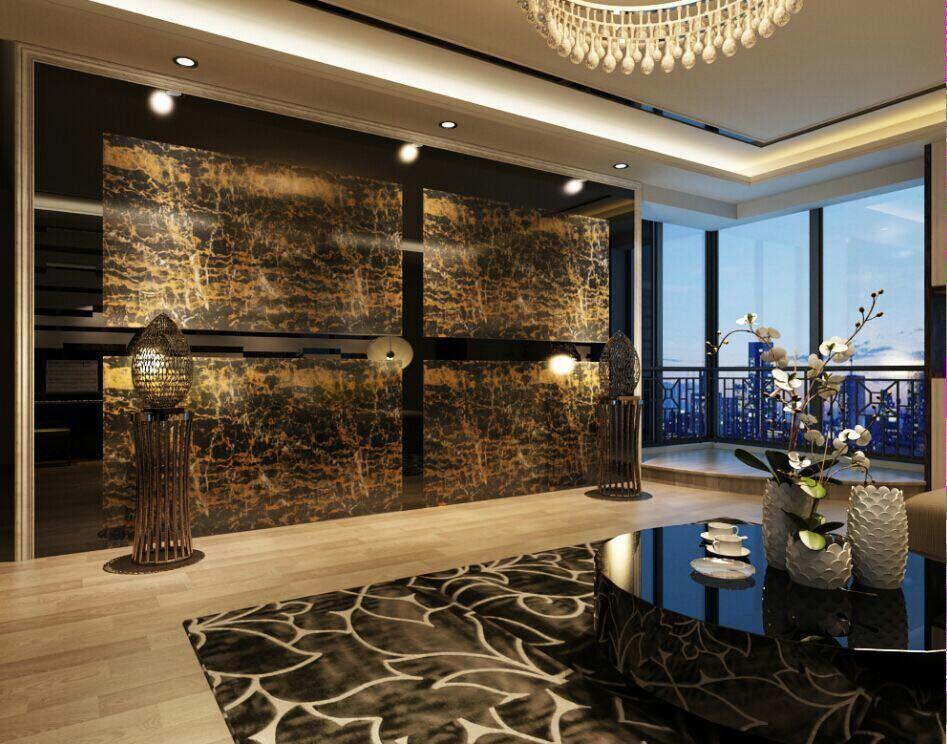 Granite in living room