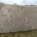 Alaska white granite block