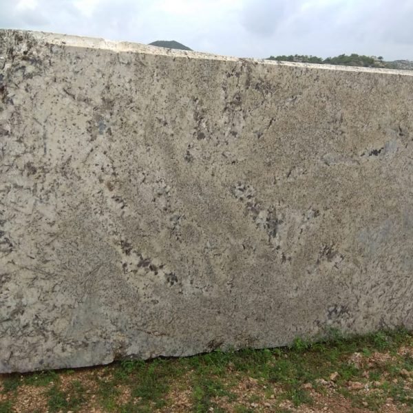 Alaska white granite block