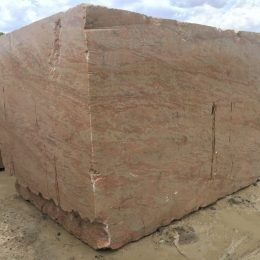 Golden Peach Granite Block