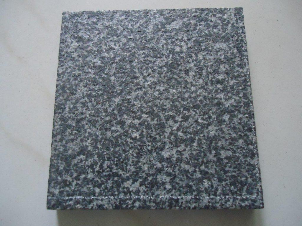 Black Galaxy Granite Flamed